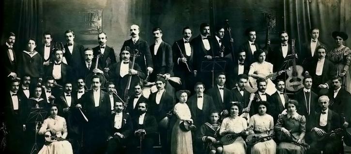 mandolinata ateniese Atene 1910